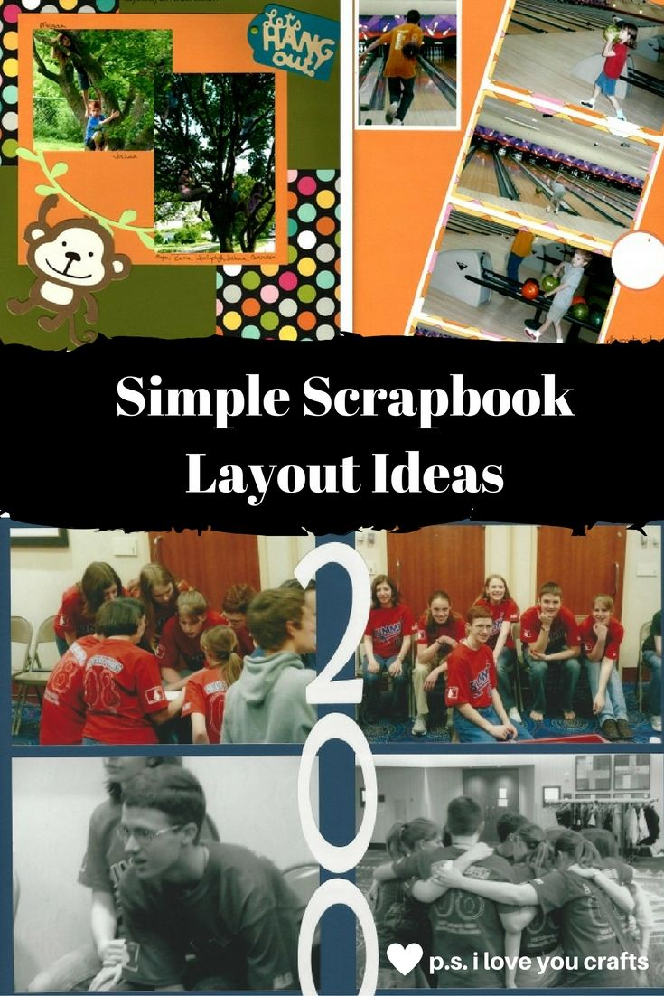 Scrapbook ideas graduation - Here Are Four Simple Scrapbook Ideas That You Can Try Today You Will Need Only