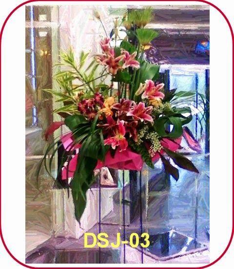 Toko Bunga Kebayoran Baru - Karangan Bunga Jakarta Selatan: Bunga Standing Ucapan Selamat