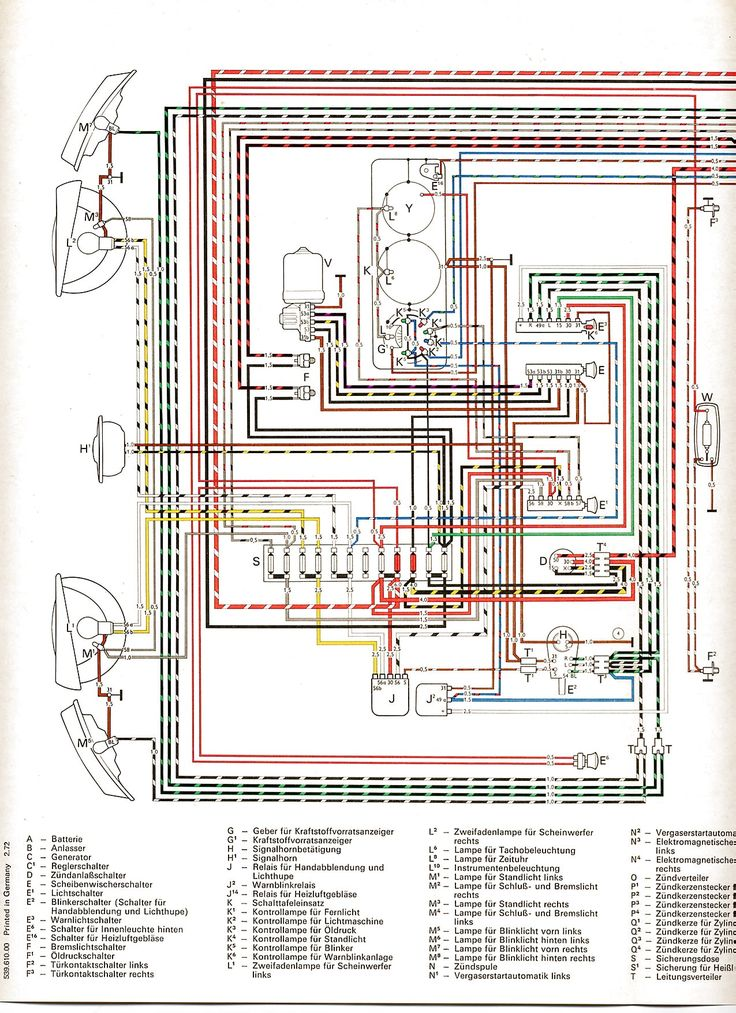 Wiring Diagram For 1971 Porsche on wiringghia