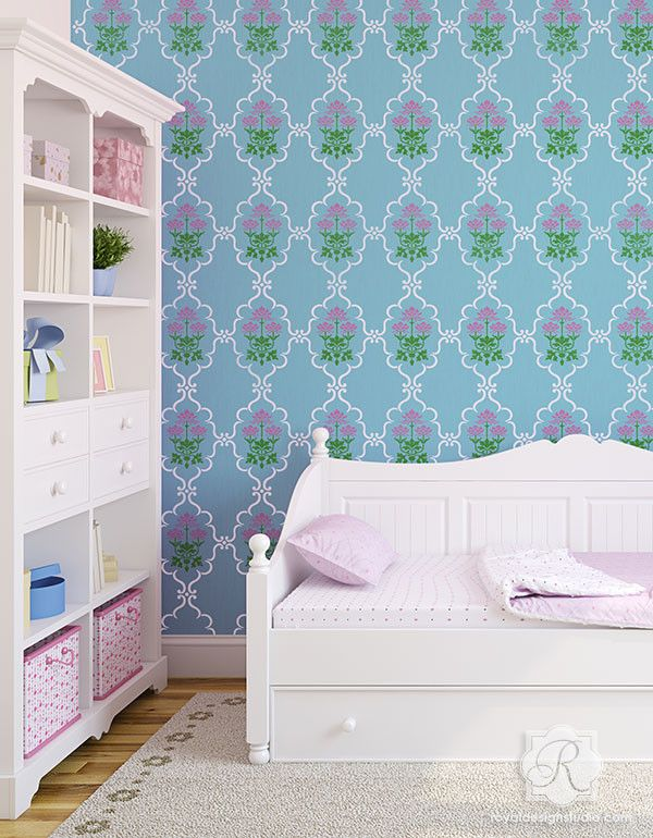 84 Best Indian Stencils U0026 Design Images On Pinterest | Wall Stenciling,  Royal Design And Damask Wall Stencils