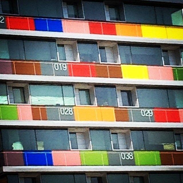 Building on Paseo de la Castellana, Madrid