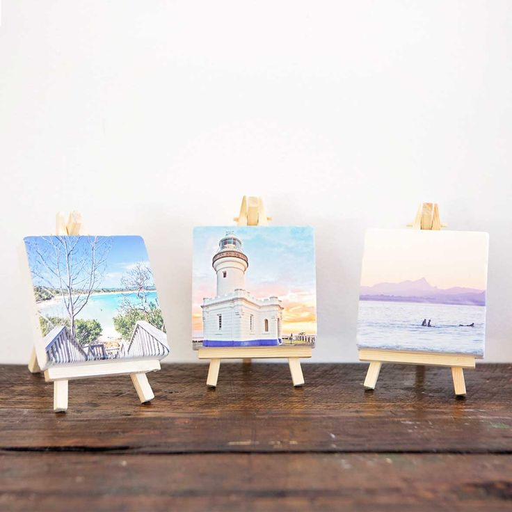 Photos printed on cute Mini Stones by Imogen Stone. Photographs by Photography Byron Bay.