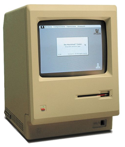 1984 The First Commercially Successful Graphic Interface PC Arrives with the Apple Macintosh