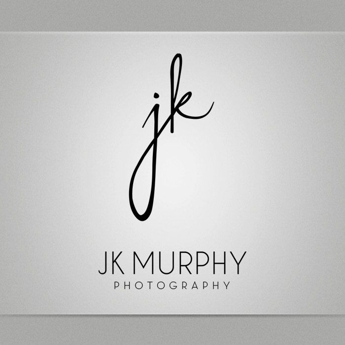 Calligraphy logo design typography business