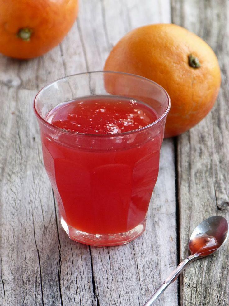 Coulis d'Orange Sanguine et Bergamote