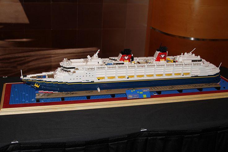 Lego Disney Wonder Ship   Myrna Litt   Flickr