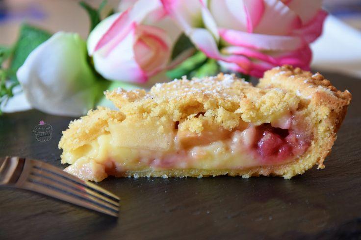 crostata crema mele e fragole