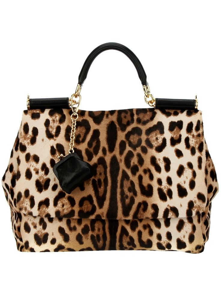 Dolce & Gabbana Leopard Print Tote --SWOON!