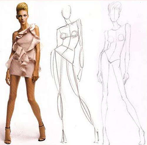 Fashion Sketch Body