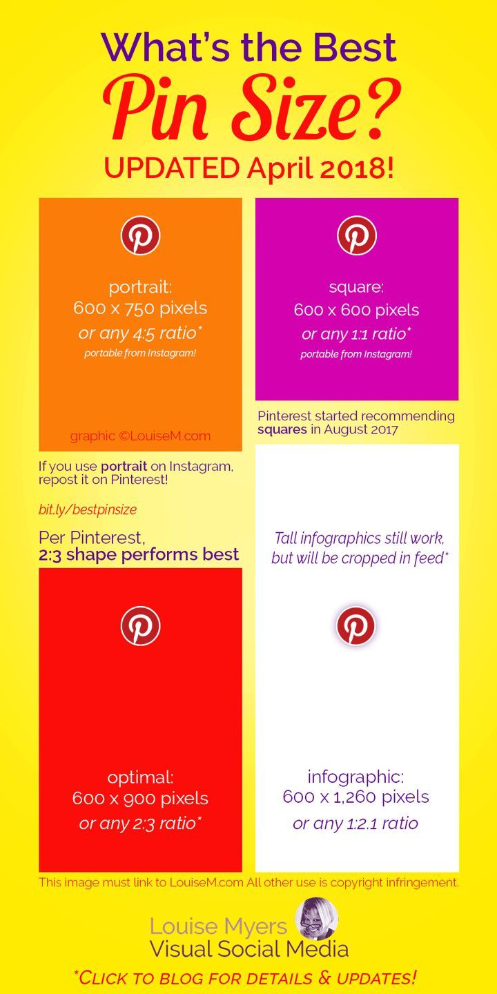 Are You Using the Best Pinterest Pin Size for 2020? | Pinterest marketing  strategy, Pinterest for business, Marketing