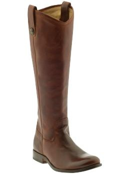 Frye Melissa button in Cognac.  Because you can never have enough boots, regardless of what my husband may think.