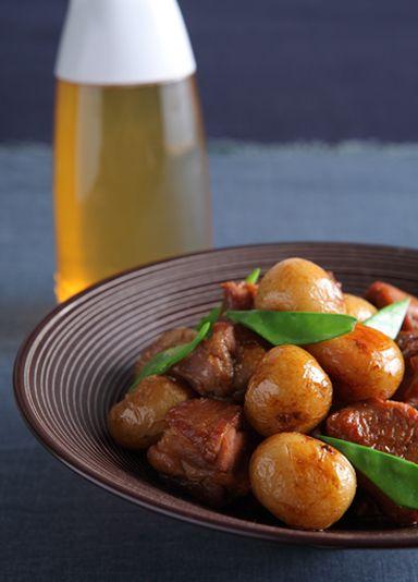新じゃがと鶏肉の甘辛煮 のレシピ・作り方 │ABCクッキングスタジオのレシピ | 料理教室・スクールならABCクッキングスタジオ