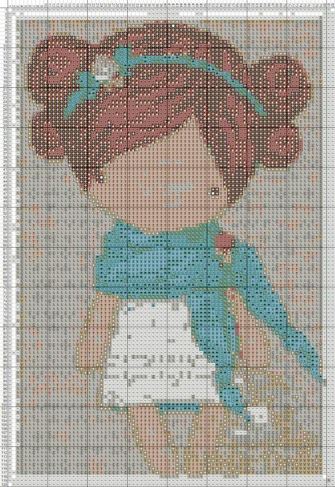 magic dolls cross stitch pinterest - Поиск в Google