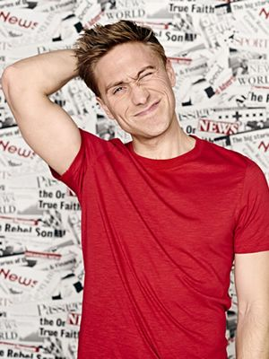 Russell Howard - Funny, geeky and now buff!