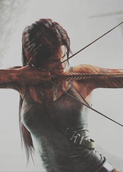 Lara Croft ♥ ♥ Please feel free to repin ♥♥ www.unocollectibles.com