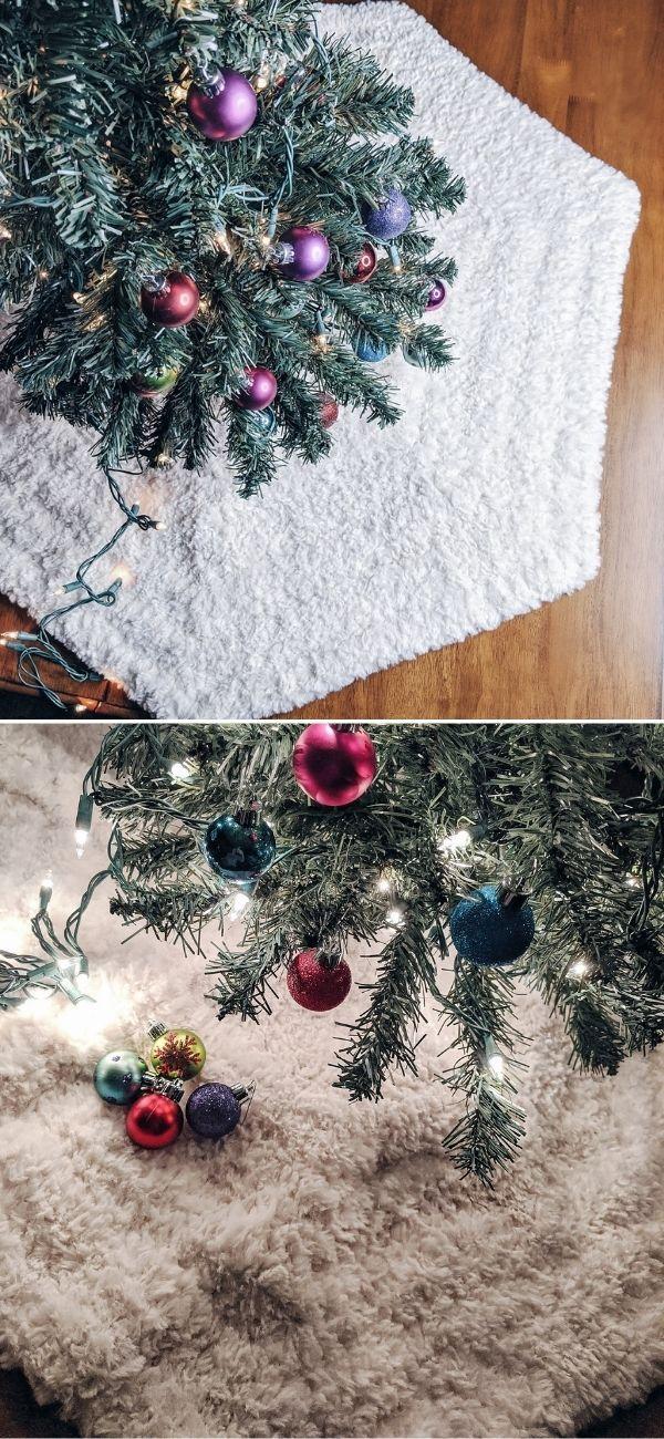 Amazing Christmas Crochet Tree Skirt Ideas Pattern Center Crochet Tree Crochet Tree Skirt Christmas Crochet