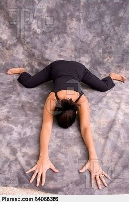 Frog pose. One of my favorites. :-)