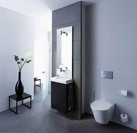 Toto Umyvadlo Zabírá V Prostoru Jen 27 Cm, Je Proto Ideální Do úzkých  Koupelen ;