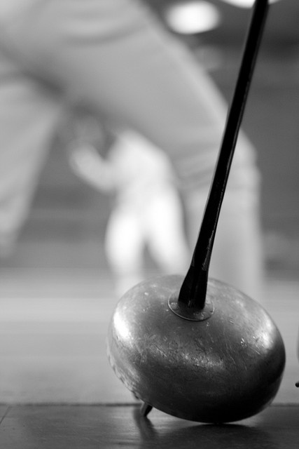 So that everyone knows on fb, this is what a epee looks like :)