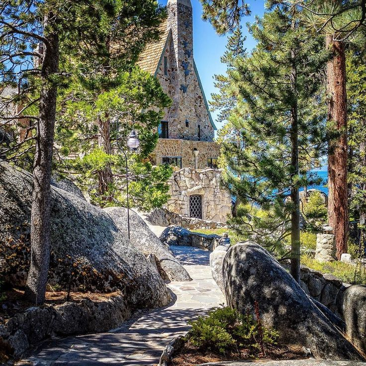 Thunderbird Lodge Lake Tahoe NV. #thunderbirdlodge #laketahoe #nevada