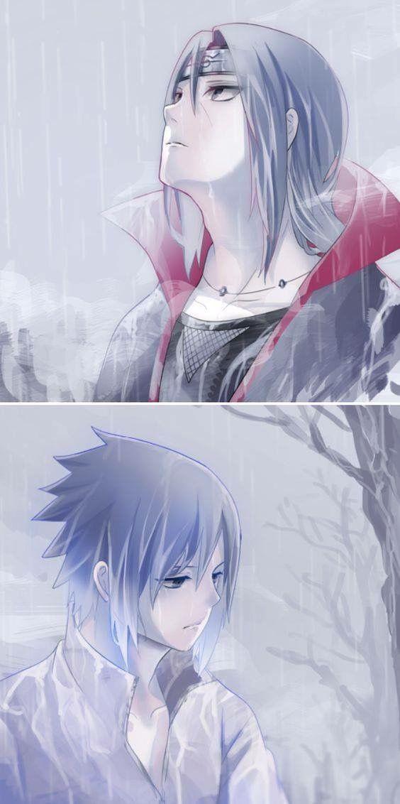 Itachi and Sasuke Uchiha Wallpaper <3 #rain