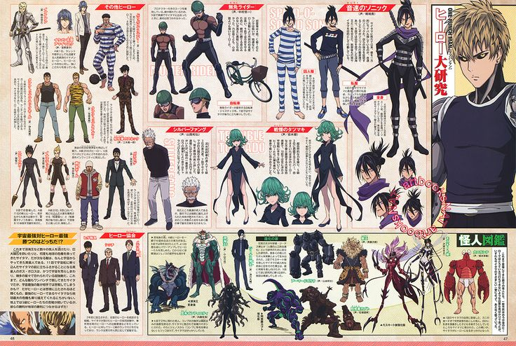 Character Design Quarterly Issue 02 : Best images about sheet saitama on pinterest models