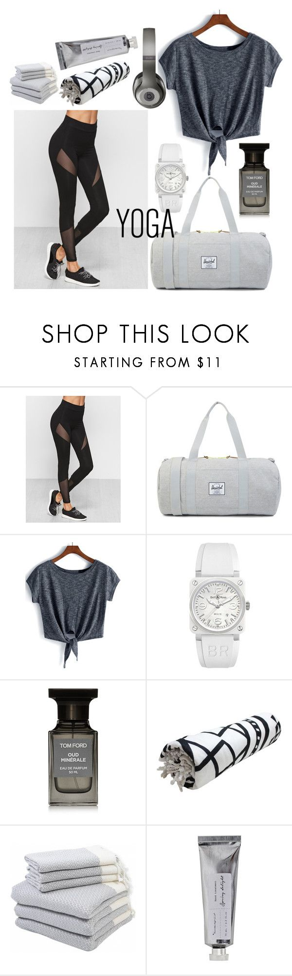 """""""Yoga style"""" by ms-horolceva ❤ liked on Polyvore featuring Bell & Ross, Tom Ford, Hamam, Bloomingville and Beats by Dr. Dre"""