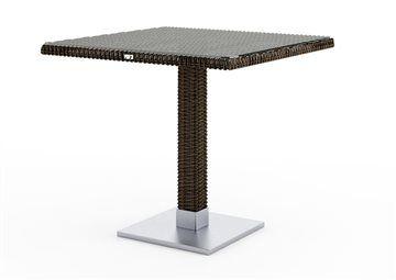 Stôl z umelého ratanu Quadro 80 x 80 x 72 cm R