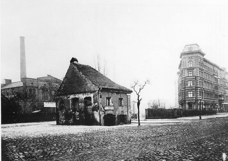 Schlesisches Tor 1882  Ehemaliges Torhaus des Schlesischen Tors. © Landesarchiv Berlin Fotograf: F. Albert Schwartz