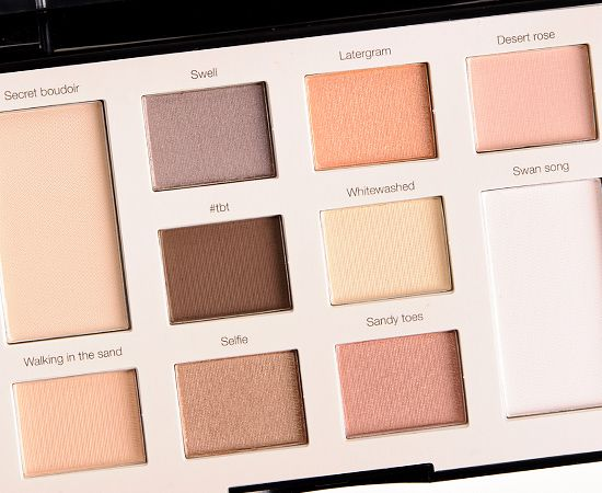 sephora sunbleached filter colorful eyeshadow palette review photos swatches. Black Bedroom Furniture Sets. Home Design Ideas
