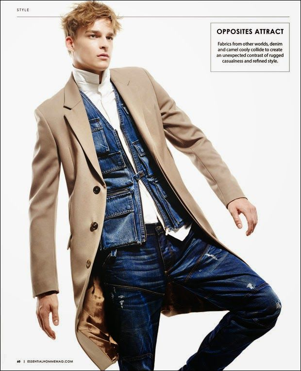 Thorben Gartner by A.P. Kim for Essential Homme