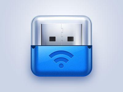 Dribbble - Wifi Usb by leilei602