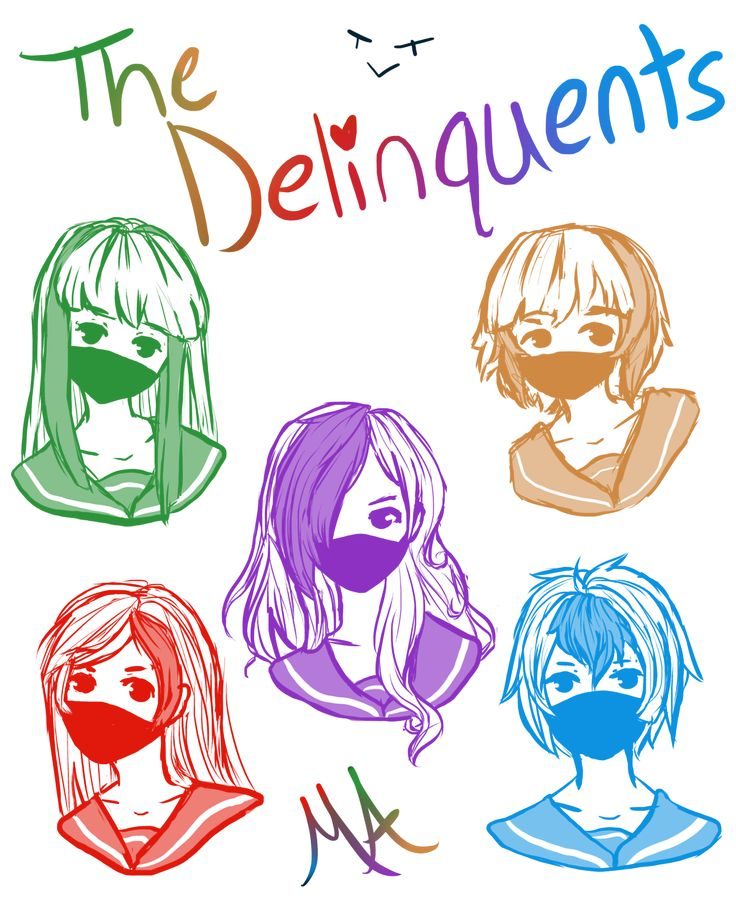 The Delinquents by SakiiChan17 on DeviantArt