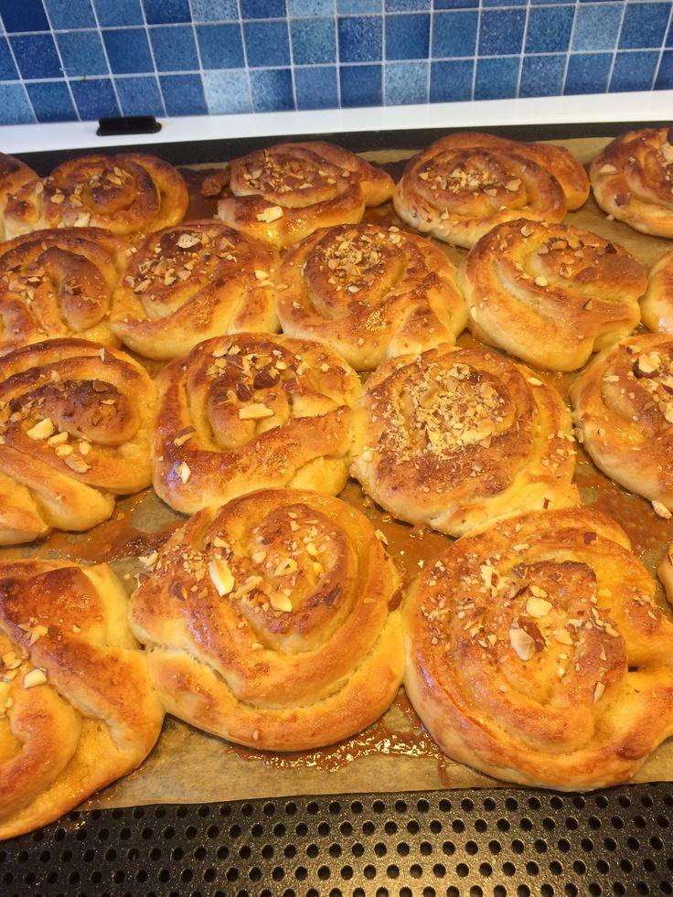 Kola bullar.  Recept från tidningen Hembakat.