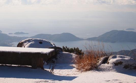 小豆島 雪景色  Shoudoshima Snow