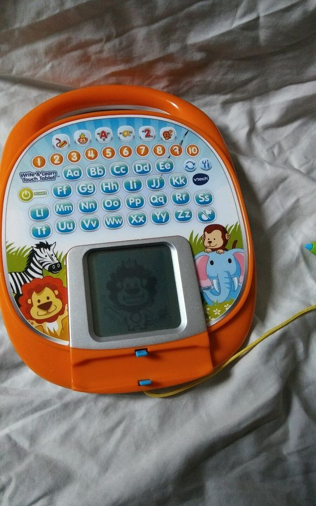 vtech write and learn touch tablet learn how to write letters and shapes