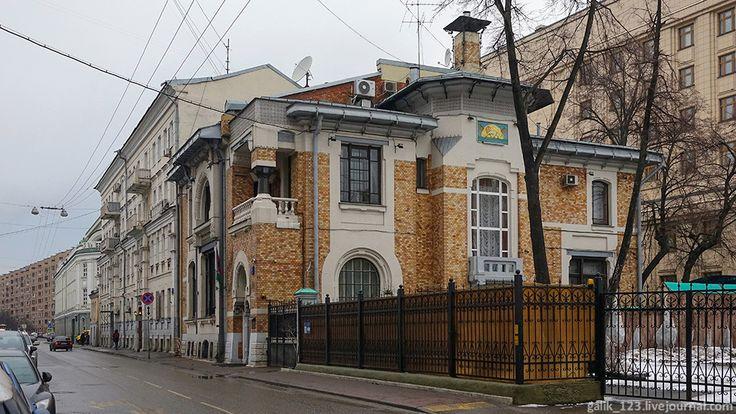 Особняк Льва Кекушева в Глазовском переулке
