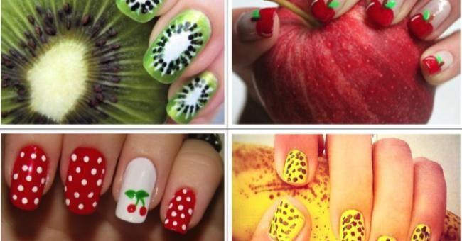Fruitige nagellak voor de zomer