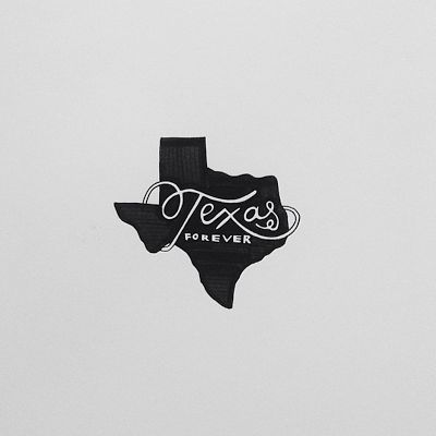 Handlettering Texas Forever - Tim Riggins, Friday Night Lights