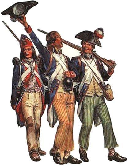1793 Sans culottes