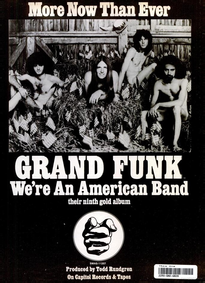 Grand Funk Railroad | Formed in 1969 | A popular take on the band during its heyday was that, although the critics hated them, audiences loved them | The band's name is a play on words of the Grand Trunk Western Railroad, a railroad line that ran through the band's home town | The Live Album (1970) was released with advanced sales so strong that they earned a Gold Record before it even hit the shelves