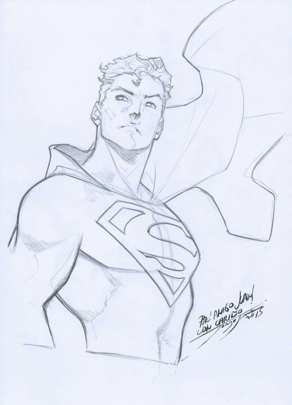 Superman - Jorge Jimenez Comic Art
