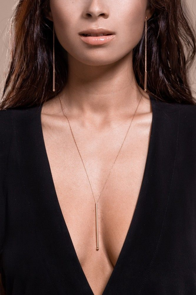 Collier Long Straw - GINETTE NY
