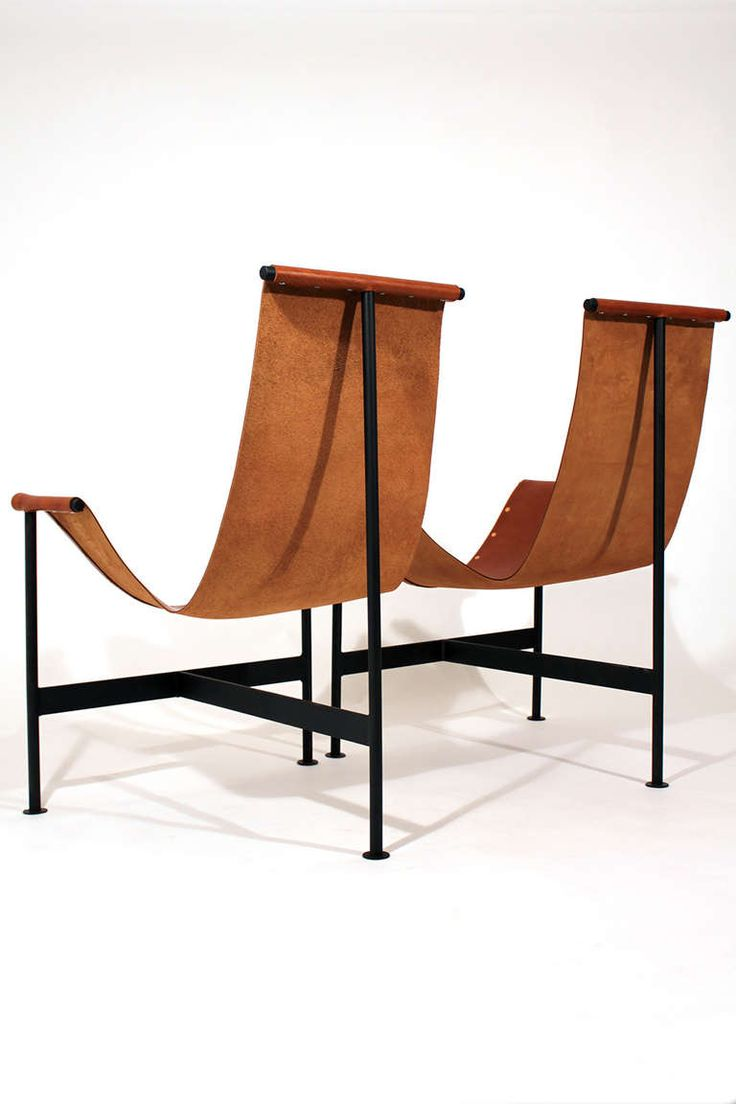 Modern sling chairs - Leather Sling Lounge Chairs