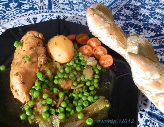 Chicken Tagine With Potatoes And Peas Morocco - North Africa) Recipe - Food.com