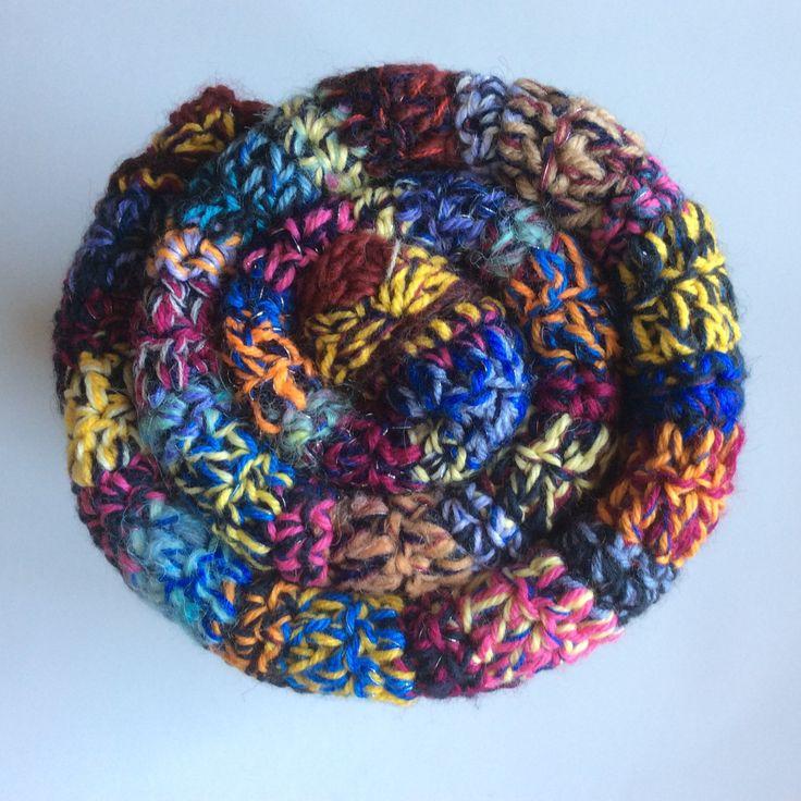 I crocheted a Rainbow