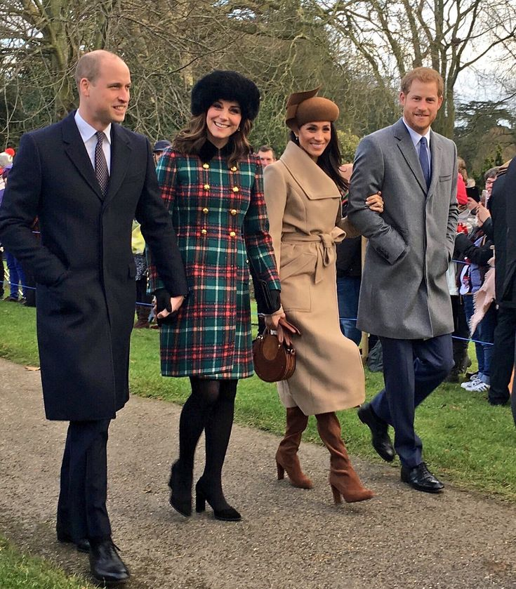 "1,991 Likes, 42 Comments - Catherine Duchess of Cambridge (@theelegantduchess) on Instagram: ""This morning, the Duke and Duchess of Cambridge, Prince Harry and Meghan Markle joined members of…"""