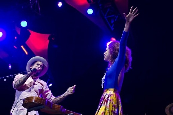 Ben Harper canta com Vanessa da Mata no Sudoeste TMN [veja aqui as fotos] -