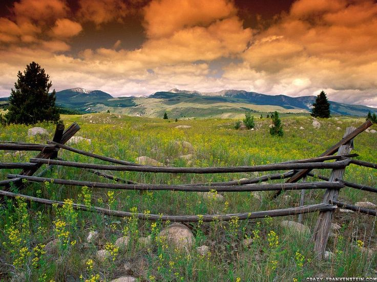 Montana. big skies, big mountains. I would not mind living there.