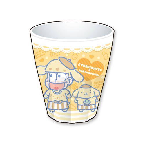 十四松×ポムポムプリン カフェ限定メラミンコップ ¥ ...